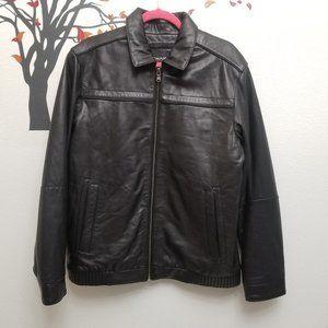 Emanuel Ungaro NZ Lamb Leather Moto Jacket Size M